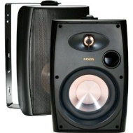 "NXG Technology NX-AW6B 6.5"" 125-Watt 2-Way Outdoor Weather-Resistant Speakers (pair) - Black"