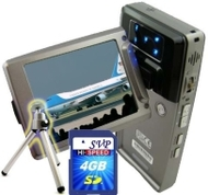 SVP HDDV-2880Bk 16MP Max TOUCH BUTTON 2.5-inch 270 DEGREE LCD Digital Video Camcorder + FREE Tripod