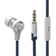 elago E6M Control Talk In-Ear Earphones - White (Compatible with iPhone 4/4S, 3G/3GS. Control-Talk with built in Microphone)