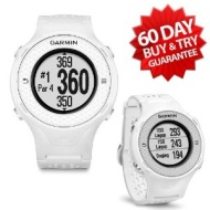 Garmin Approach S4 Golf GPS Watch (NEW VERSION w/ 30,000+ Courses) | 60-Day Buy & Try Return Policy! (White)