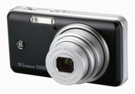 GE E1035 Black Digital Camera (10MP 3x zoom, 2.7-inch LCD, 3200 ISO, Smile, Blink & Face Detection)