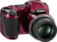 Nikon Coolpix 16MP/30x Zoom Red Digital Camera