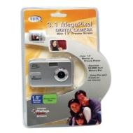 Digital Concepts 3.1 MP Digital Camera (Silver)