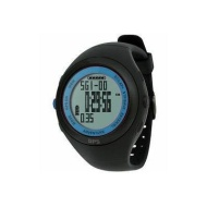 WCI Quality Waterproof GPS Navigation Sports Wrist Watch With Chronograph Stopwatch - Measures Burned Calories And Fat, Speed And Distance - For Train
