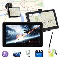 Discoball 7 Inch Car Touch Screen GPS Navigation System Video MP3 MP4 SAT NAV 8GB FM UK EU Map