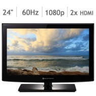 Element 24 inch Class 1080p LED HDTV Recertified 90 Day Warranty