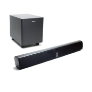 "Energy 200Watt 2Way Power Bar Soundbar With 8"" Wireless Subwoofer"