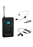 GTD Audio Body Pack Transmitter compatible with receiver of G-622 Series