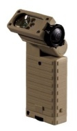 Streamlight Flashlight Sidewinder Tactical with Alkaline Batteries, IR LED Coyote