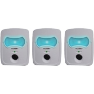 Viatek PR50-3C Ultrasonic Pest Repeller With Nightlight (3 Units; Blister Packaging)