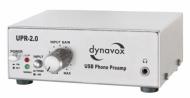 Dynavox UPR-2.0 USB - Preamplificador para tocadiscos con puerto USB, color plateado