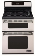 "Jenn-Air JDS8850AAS 30"" Dual-Fuel Slide-In Range w/ Two Speed Convection, 4 Sealed Burners & Electric Oven: Stainless Steel"