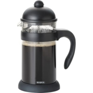 BonJour  Hugo 3-Cup Unbreakable French Press, Black