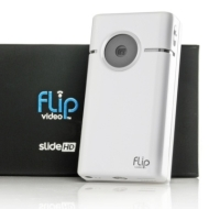 Flip Slide HD 16GB Pocket Camcorder with HDMI Cable