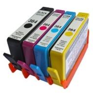 HP Combo Pack Compatibile 364XL Cartucce d'inchiostro - 1 Nero (550 pagine) 1 Ciano 1 Magenta 1 Giallo per HP Photosmart 5510, 5511, 5512, 5514, 5515,