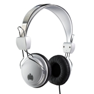 Ministry of Sound 004 Headphones - Silver/Black with Black Cable