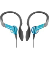 Panasonic Water Resistant Sports Clip Headphones - Blue
