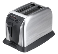 West Bend 78002 2 Slice Toaster, stainless steel
