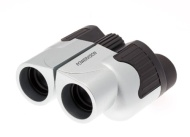 BLACK AND SILVER COMPACT FOLDING 10X25 HIGH QUALITY BINOCULARS. High Power Magnification Special Anti Glare Fully Coated Optics. Lightweight Alloy Bod