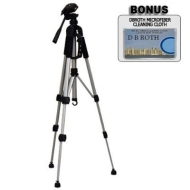 "Deluxe 57"" Camera Tripod with Carrying Case For The Sony Cybershot DSC-G3, DSC-T90, DSC-T900 Digital Cameras"