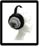 Headphones Ear Muffs Stereo Dj
