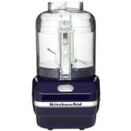 KitchenAid KFC3100BW - 3 Cup Chef's Chopper Series Food Chopper, Blue Willow