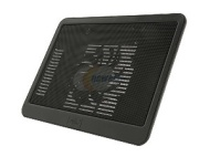 Logisys NP19 Notebook Cooler Pad w 140mm Silent Fan Black