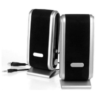 PARA Portable USB Multimedia PC Speakers for use with Desktops / Laptops / Netbooks / Macbooks / iMac