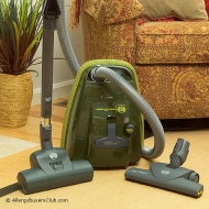 Sebo 9696AM Canister Vacuum Features SClass Filtration