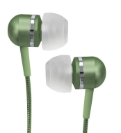 Coby Jammerz Platinum High-Performance Isolation Stereo Earphones CVEM79GRN (Green)
