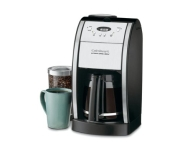 Cuisinart Stainless Automatic Deluxe Grind and Brew Coffee Maker