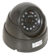 Q-See QSDNV - CCTV camera - dome - color ( Day&Night ) - 380 TVL - DC 12 V