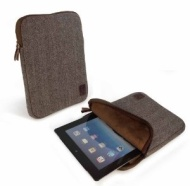 Tuff-Luv Herringbone Tweed Sleeve Case Cover For Kindle 8.9""