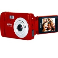 "Vivitar X014N 10.1 Megapixel Compact Digital Camera Red - (1.8"" Screen, Anti-Shake, 4x Zoom)"