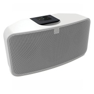 Bluesound - PULSE MINI 60W 3-Way Wireless Speaker - White PULSE MINI-WHI