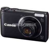 Canon PowerShot A2200 14MP Black Digital Camera w/ 4x Zoom & 720p HD Video