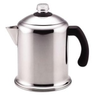 Farberware Yosemite 8 Cup Stainless Steel Percolator  Silver