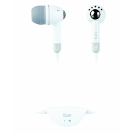 ILUV LV3012NP ILUV IN EAR EARPHONES IN WHITE