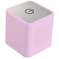 Ixos Pink Travel Cube iPod/MP3 Mobile Speaker.