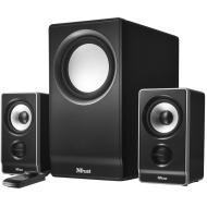 Trust Wave 2.1 Speaker Set with Subwoofer - 45 Watt RMS Power Output 17250