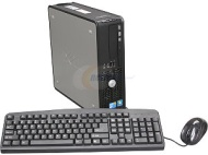 Dell Refurbished 780 Desktop PC with Intel Core 2 Duo Processor, 4GB Memory, 1TB Hard Drive and Windows 7 Professional (Monitor Not Included)