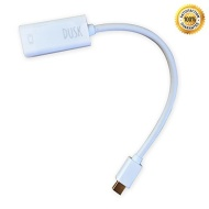 Dusk® Mini Display Port DP to HDMI Cable Adapter For iMac MacBook Pro Air LCD TV | Thunderbolt Compatible (One Year Manufacturers Warranty)