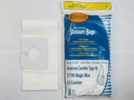 Kenmore 51195 Magic Blue Canister Vacuum Bags - 8 Bags