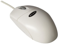 Belkin Netmaster Scroll Mouse - Mouse - 2 button(s) - wired - USB - white - retail
