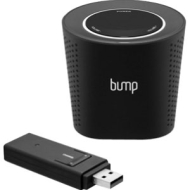Bump Wireless Speaker with USB Transmitter