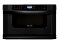 Sharp Insight Pro Microwave Drawer KB-6014LW - Microwave oven - built-in - 28.3 litres - 1000 W - white