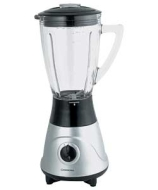 Cookworks Signature Silver Glass Blender.