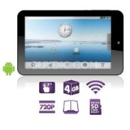 "Ematic 7"" Touch Screen Tablet with Android 2.1"