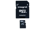 Integral 2GB Micro SD Memory Card with Adaptor