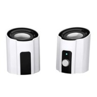 Portable White USB 2.0 Powered Laptop/Notebook Computer Speakers PC/Mac Speaker